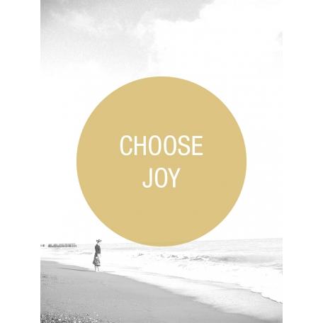 Photo Pocket Card Choose Joy