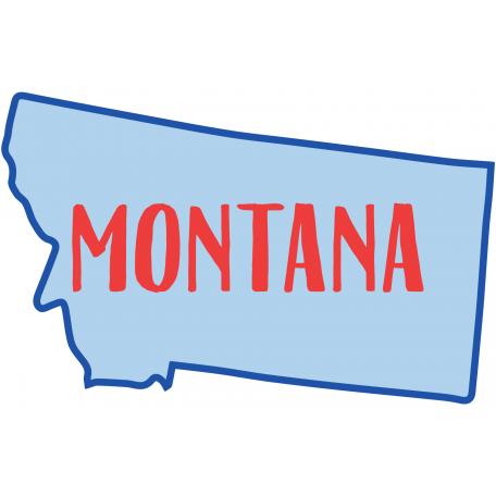 Journal Card Montana 4x6