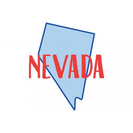 Journal Card Nevada 4x6