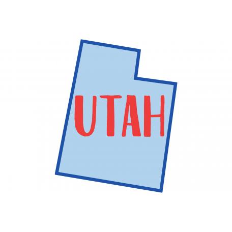 Journal Card Utah 4x6