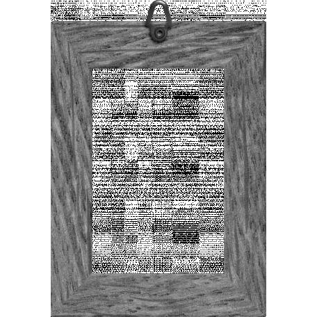Our House - Garden, Element Templates - Wooden Frame