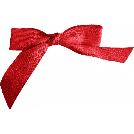 A Little Sparkle {Elements} - Red Fabric Bow
