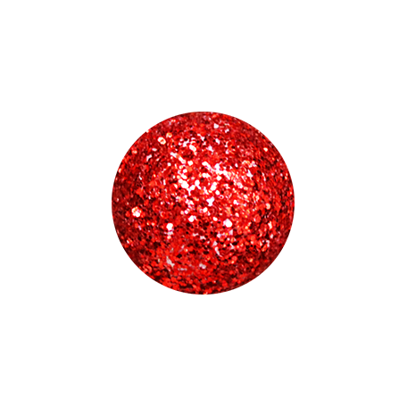 A Little Sparkle {Elements} - Red Glitter Ball