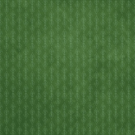 Woodland Winter - Green Ornamental Paper