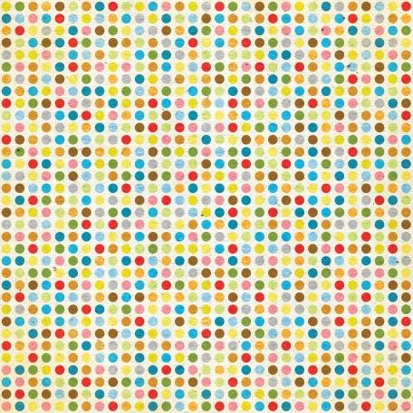 Look, A Book! - Rainbow Dots Paper