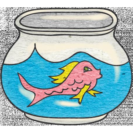 Look, A Book! - Fishbowl Doodle 2