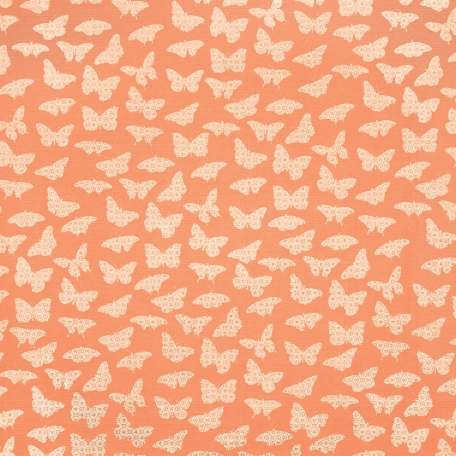 Good Day - Orange Butterfly Paper