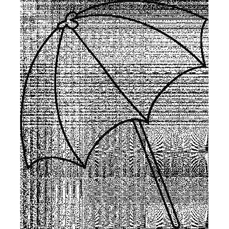 Umbrella Doodle Template 002 Graphic By Janet Kemp Pixel Scrapper Digital Scrapbooking