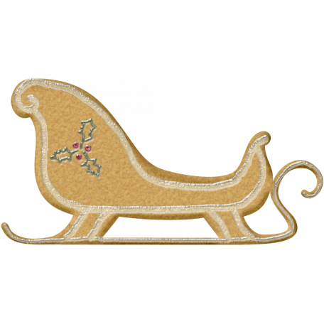 Holiday Cookies Sleigh Graphic By Rose Thorn Pixel Scrapper