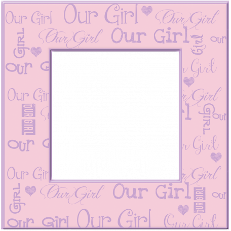 Welcome Little One Our Girl Frame graphic by Dawn Prater | Pixel ...