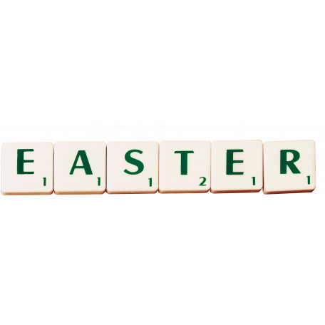 scrabble word easter graphic by Arite Nowak | Pixel Scrapper