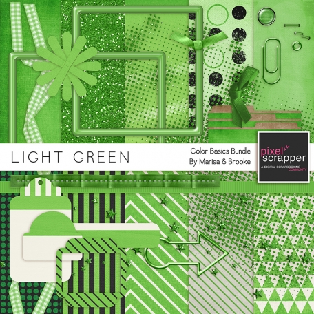 Color Basics - Light Green Kit
