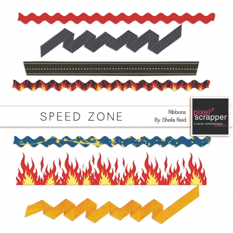 Speed Zone Ribbons Kit