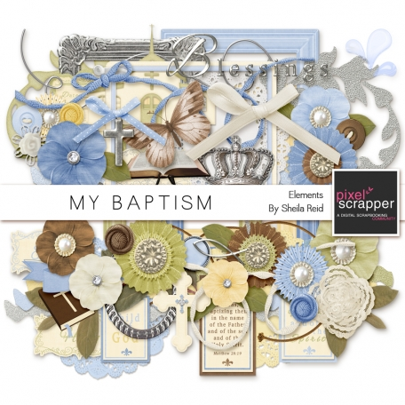 My Baptism Elements Kit