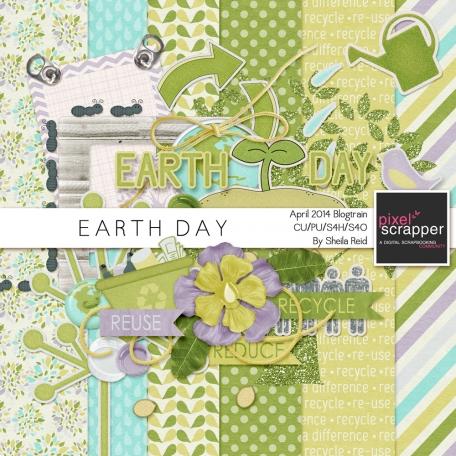 Earth Day- April 2014 Blog Train Mini Kit