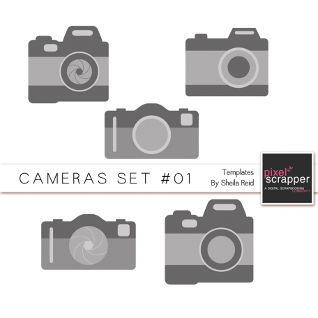 Cameras Set #01 Templates Kit
