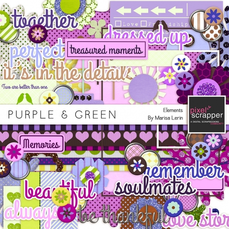 Purple & Green Elements Kit