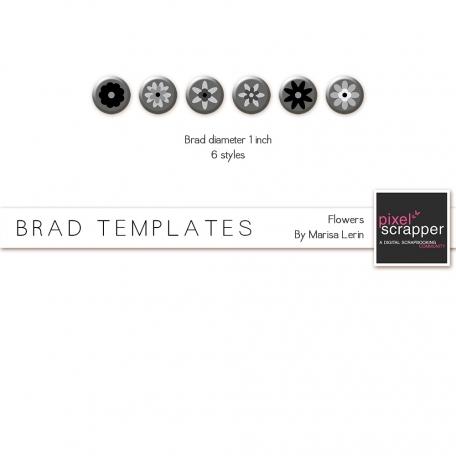 Brad Set #1 Flowers Kit