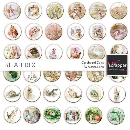 Beatrix Paper Coins Kit