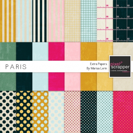 Paris Extra Papers Kit