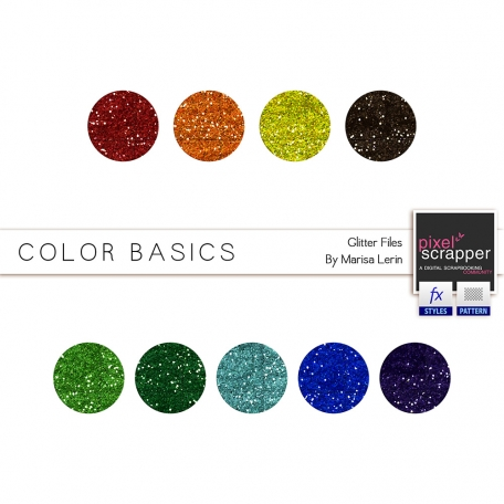 Color Basics Glitters Kit