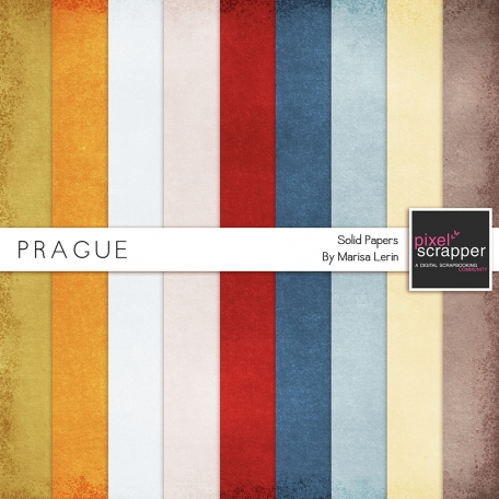 Prague Solid Papers Kit