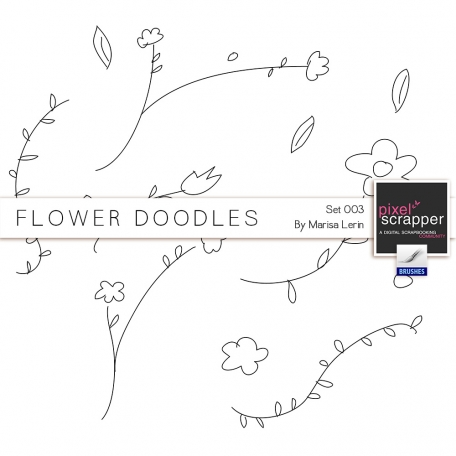 Flower Doodles #3 Kit