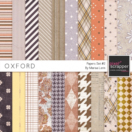 Oxford Paper Set #2 Kit