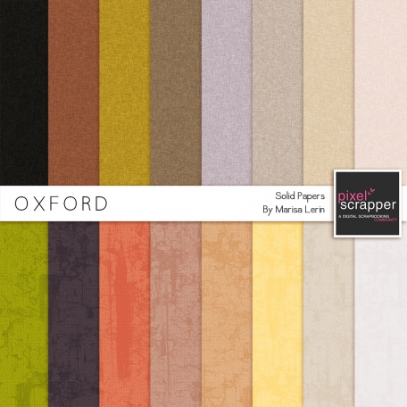 Oxford Solid Papers Kit