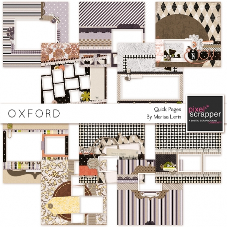 Oxford Quick Pages Kit