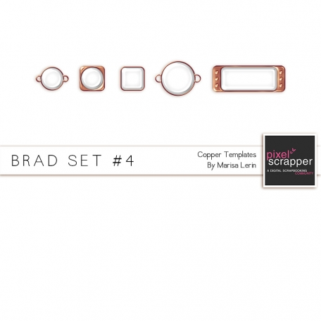 Brad Set #4 - Copper Kit