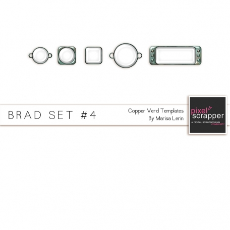 Brad Set #4 - Copper Verd Kit