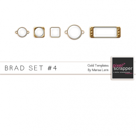 Brad Set #4 - Gold Kit