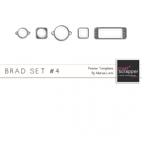 Brad Set #4 - Pewter Kit