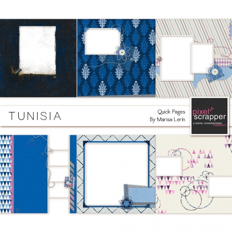 Tunisia Quick Pages Kit