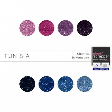 Tunisia Glitters Kit