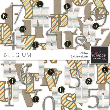 Belgium Alphas Kit