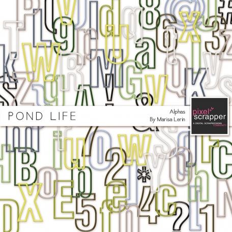 Pond Life Alphas Kit