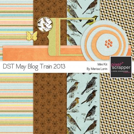 DST May 2013 Blog Train Mini Kit