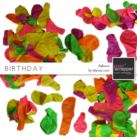 Birthday Balloons Kit
