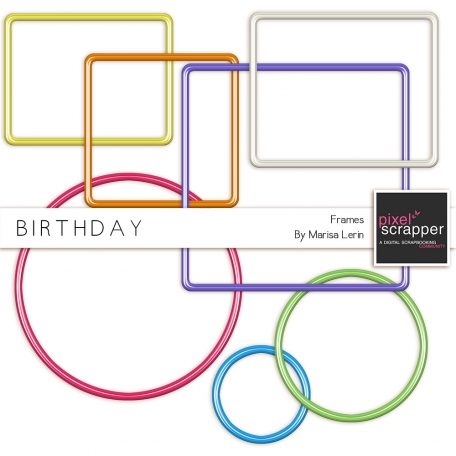 Birthday Frames Kit