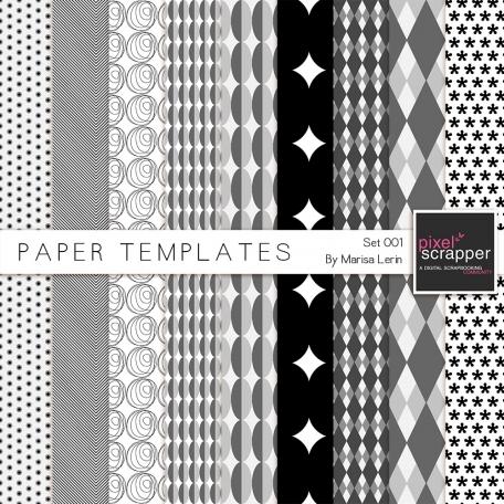 Paper Templates 001 Kit