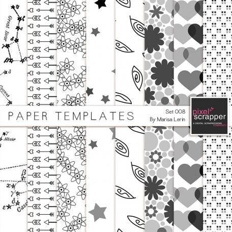 Paper Templates 008 Kit