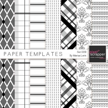 Paper Templates 009 Kit