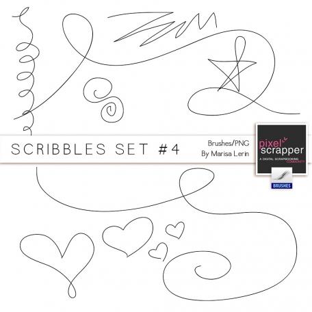 Scribbles Set #4 Kit