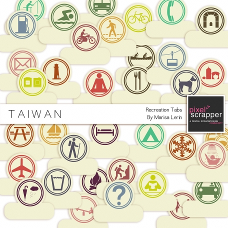 Taiwan Recreation Tabs Kit