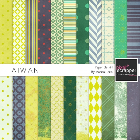 Taiwan Papers #1 Kit