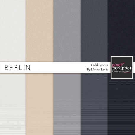 Berlin Solid Papers Kit