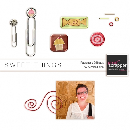 Sweet Things Fasteners Mini Kit