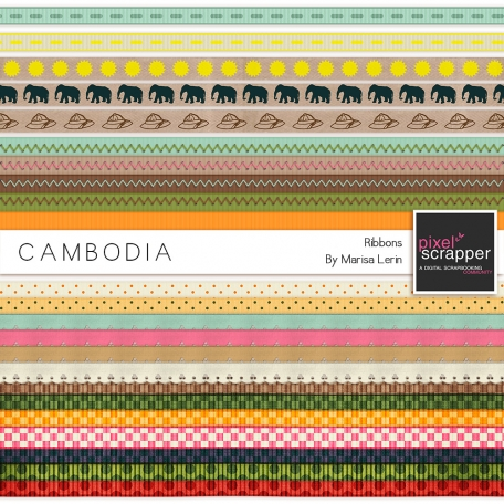 Cambodia Ribbons Kit